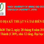 Hội thảo Địa kỹ thuật và Tai biến địa chất